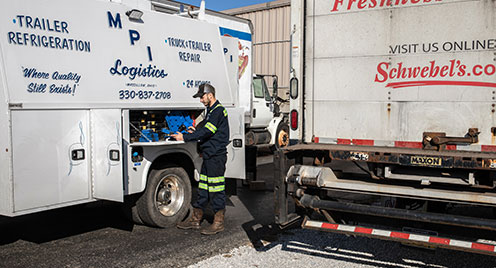 On-site Truck Maintenance and Repair